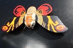 Mothra Tin Wind-Up (Billiken 1992) (Donald Deveau) Tags: mothra japanesetoy japanesemonster kaiju tintoy windup billiken toho toys toyphotography