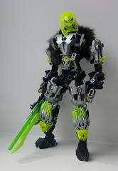 Velken Tenrou (Tails-N-Doll) Tags: lego bionicle toa velken