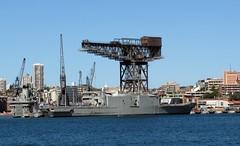 RAN 52, Garden Island, Sydney, NSW. (dunedoo) Tags: navalship ran navy gardenisland sydney nsw newsouthwales australia nikonl820