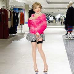 home14742 (Ann Drogyny) Tags: shoes legs heels crossdress crossdresser crossdressing cd tv tg ts transvestite transgender transsexual tranny tgirl glamour pinup mature cute sexy stockings nylons suspenders garters