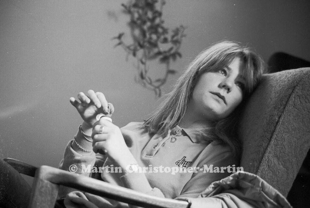 8f5d4e05faf Debra (martin christopher-martin) Tags  debbie girl dress bubbles sitting  portrait bw