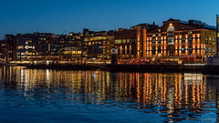Aker Brygge (Sigurd R) Tags: akerbrygge architecture city clear dark evening lights longexposure night nightlife norge norway oslo reflection sky spring sundown tripod urban no