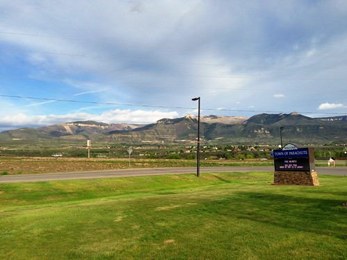 Parachute, CO -- Rest Stop Scenery