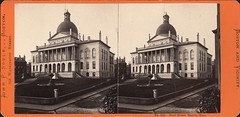 State House, Boston (Tekniska museet) Tags: boston bostonstatehouse tekniskamuseet stereoimage stereobild johnpsoule thenationalmuseumofscienceandtechnology