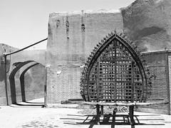 A small Nakhl in the old town of Yazd. (praccus) Tags: desert iran islam persia ashura yazd shiite nakhl ashurah shiiteislam