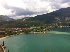 View or Torbole from Monte Brione (Crystal Summer) Tags: mountain riva walk monte limone torbole brione