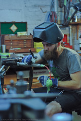 Tom (Caitlin Magarity Photography) Tags: blue moon philadelphia beer shop work bikes bicycles crew production filming bluemoon bilenky dbg bilenkycycleworks
