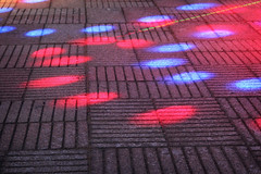 Huellas galcticas (Markus' Sperling) Tags: colour luces colores aire libre suelo marcas huellas discoteca