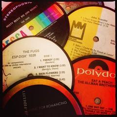 Titles (BLACK EYED SUZY) Tags: records vintage vinyl retro albums hipstamatic oggl