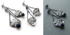 Like from Ancient Greece (ggagatka) Tags: silver handmade jewellery earrings artymyczki ammade