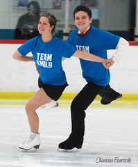 Team Emily! (charissa1066) Tags: smile michigan iceskating annarbor smiles wolfgang proam olympian icedance emilysamuelson annarborfigureskatingclub