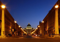 Road of the Conciliation (werner boehm *) Tags: italy vatican rome via architektur rom petersdom viaconciliazione conciliazione wernerboehm