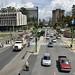 Le belle strade nuove della zona civica di Ciudad de Guatemala