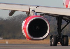 Jet Engine (Natural Beauty on Film) Tags: fan asia power transport jet engine fast virgin fuel 56 fumes cfm fanjet jeta1