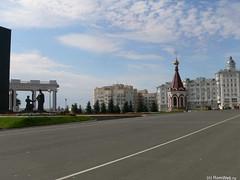 Часть Советской площади в Саранске.