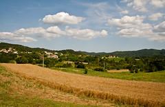 Croatia - beautiful landscape (joningic) Tags: houses summer sky house nature colors landscape corn croatia