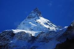 THE HIMALAYAN MATTERHORN (Shakyasom Majumder) Tags: india mountains nikon day clear himalayas himachalpradesh landscapephotography keylong lahaul lahaulspiti nikond90 nikkor70300vr himachalpradeshtourism unforgettablehimachal