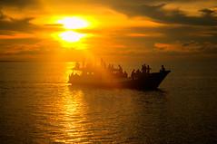 Derawan Island, East Kalimantan (Tempo Dulu) Tags: sunset indonesia kalimantan derawan