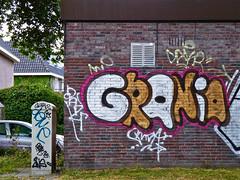 Den Haag Graffiti : GRANIA (Akbar Sim) Tags: holland graffiti nederland denhaag illegal grania agga akbarsimonse akbarsim