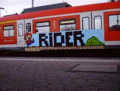 Super Mario Endboss (dizkorick78) Tags: train graffiti essen panel brothers nintendo cologne kln super mario nrw nes graff sbahn dusseldorf oc bros gameboy dsseldorf rider rhein luigi ruhr ruhrgebiet dortmund duesseldorf bombing supermario ruhrpott supermariobros occrew