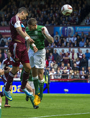 8782757 (Heart of Midlothian) Tags: portrait hearts football goal fulllength sns hibs hibernian heartsvhibs heartsvhibernian spfl 20132014 scottishpremiership 13081102