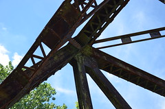 Old Chain of Rocks Bridge - Route 66 Missouri / Illinois (Adventurer Dustin Holmes) Tags: bridge bridges chainofrocksbridge oldchainofrocksbridge 2013