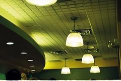 Hale and hearty (aaronvandorn) Tags: newyorkcity green soup restaurant ceiling lamps madisonsquarepark 23rdstreet minoltamaxxum7000 haleheartysoup