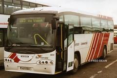 Bus Eireann SR22 (02D5057). (Fred Dean Jnr) Tags: dublin century scania may2002 sr22 buseireann irizar l94 02d5057 buseireannbroadstonedepot