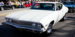 1968 Chevy Chevelle at Auto Fest (hz536n/George Thomas) Tags: summer chevrolet canon lab michigan chevelle september chevy canon5d 1968 upnorth hdr carshow frankenmuth smörgåsbord 327 autofest labcolor ef1740mmf4lusm 2013 cs5 photomatix40