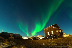 BFX_5771s (savillent) Tags: sky canada night clouds dark stars landscape photography lights nikon nocturnal northwest space alien north nwt september arctic astrophotography midnight northern saville lunar climate territories borealis xfile tuktoyaktuk 2013 urora d300s