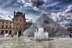 The pyramid at the Louvre - Paris (haban hero) Tags: voyage paris pyramid louvre