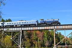 Rare MLW (Michael Berry Railfan) Tags: train quebec eastman easterntownships mlw mma montreallocomotiveworks m420tr orfordexpress montrealmaineatlanticrailway eastmantrestle oex26