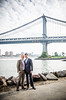 Carl + Rollie (Eric Schwortz Photography) Tags: nyc portraits dumbo brooklynheights marriage manhattanbridge weddings grooms brooklynny weddingphotography brooklynbridgepark