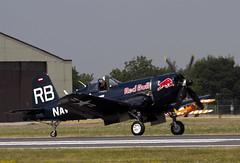 Chance Vought F4U Corsair (Hawkeye2011) Tags: aircraft aviation military corsair naval redbull riat f4u chancevought raffairford 2013