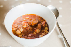 Chorizo and Chick Pea Soup (Mog Photography) Tags: food pepper soup chorizo chickpeas mogfood