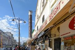 Istanbul (Edi Bhler) Tags: sky clouds himmel wolken streetlife structure bauwerk strassenszene sulen 2470mmf28 ladengeschft nikond800 structuredetail cemberlitaslm bauwerkdetail