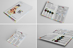 Bi-fold Brochure 29 (Demorfoza) Tags: magazine print design media graphic ad creative social agency half fold leaflet a4 brochure bi template pamphlet bifold halffold