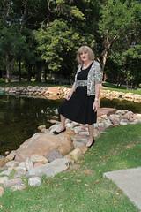 new93364-IMG_0984t (Misscherieamor) Tags: park pond lbd littleblackdress