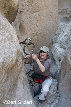 Rings help Janie navigate defile