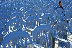 Chairs & Him (Encik Capin) Tags: 35mm pattern chairs uncle seoul fujifilm southkorea fujinon capin xenocapin xpro1 xf3514