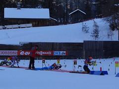 Women trainings - WC Biathlon Annecy-Le Grand-Bornand 2013