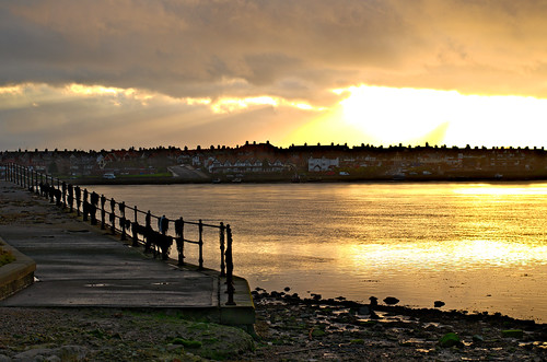 Walney Channel afternoon sun - 09-12-13