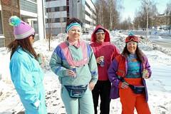 IMG_2063d.jpg-6-2 (onesieworld) Tags: girls snow ski fetish finland women shiny suit 80s granny nylon kinky