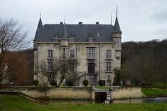 Kasteel 'Schaloen' Valkenburg (2013) (l-vandervegt) Tags: holland castle netherlands nederland limburg valkenburg niederlande kasteel schaloen 2013