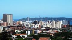 Project52#15 Durban in my window (ValeZ's World) Tags: africa windows natal south roofs glenwood skycrapers bluff sud zulu durban kwa grattacieli