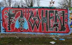 Graffiti Delft (oerendhard1) Tags: graffiti streetart urban art irenetunnel delft pohen wrs oerendhard