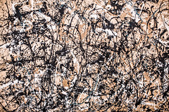 Autumn Rhythm (Number 30) (Thomas Hawk) Tags: nyc usa newyork museum painting unitedstates manhattan unitedstatesofamerica met metropolitan metropolitanmuseum jacksonpollock themetropolitanmuseumofart autumnrhythmnumber30