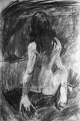 Life drawing (taraghb) Tags: life art drawing charcoal lifedrawing