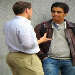 (ManontheStreet2day) Tags: man male ass businessman wallet butt hunk teacher business jeans bluejeans stud