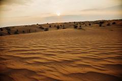 Dubai (Victoriano) Tags: sunset dessert sand eau dubai wind dunes uae arab